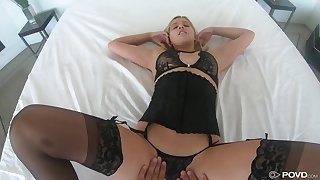 Legendary POV scene featuring seductress in sexy underwear Sophia Lux