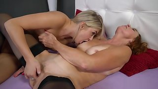 Lotty Blue and Cayla Lyons in Sapphist Sexual relations Act