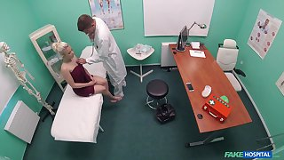 Teen hottie Anna Rey receives a imprecise dicking in the doc's office