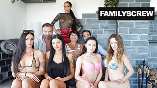 Sisters Acting opposite number Whores - Stepfamily Sticks Together
