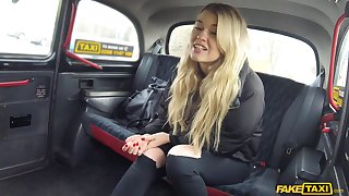 Insolent unreserved likes shaking the booty on the cab driver's huge dick