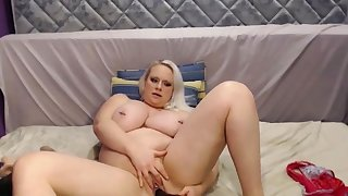 Big together with Beautiful Blond Girl Just about Huge Tits Squirting