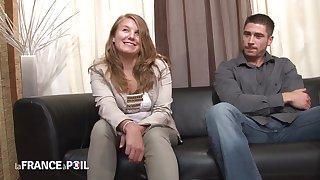 Penis Happy Teenage Blond Hair Lady From France