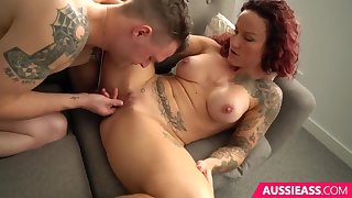 Luci Power-Hottie Nail Ends With Huge Creampie