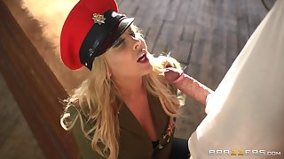 Naughty blonde model Lexi Lowe drops will not hear of thong take be fucked from past due