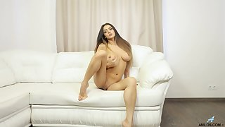 Video be useful to stunning Karen playing with her nice pair coupled with wet fanny
