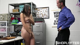 Petty cat burglar Madi Laine persuades security guard to put aside her off easy