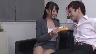 Video for natural boobs Japanese cooky getting fucked by her big wheel